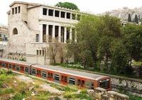 El metro de Atenas (Grecia)