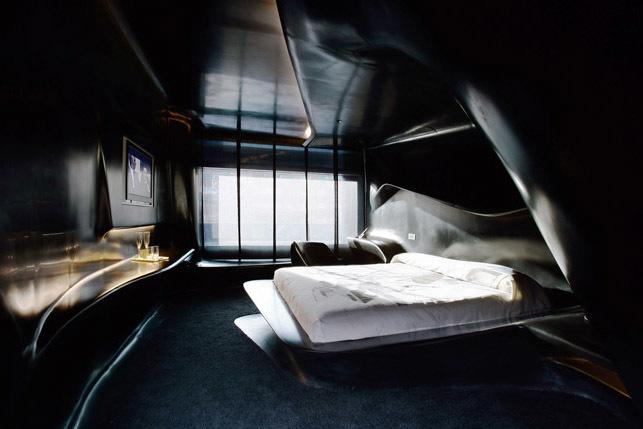 Zaha Hadid hotel Puerta América