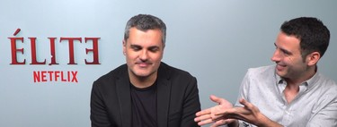 """""""Me encantaría un crossover de 'Élite' con 'Sex Education' y ver lo que sale de ahí"""". Darío Madrona"""
