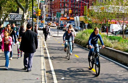 New York City Bike Lanes Wikimedia