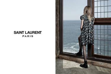 Cara Delevingne conquista al punk de Saint Laurent en su nueva campaña
