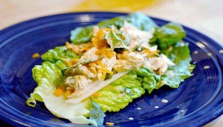 Cocina ligera en verano: pollo con nata y zanahoria
