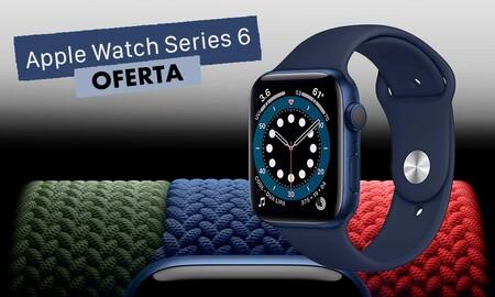 Esta semana, El Corte Inglés te deja el Apple Watch Series 6 GPS+Celular de 44mm por 50 euros menos