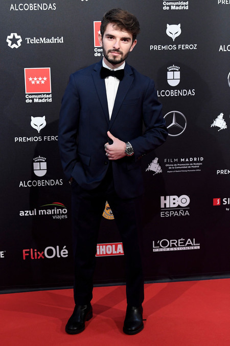 Alberto Sanchez Red Carpet Feroz Awards 2020