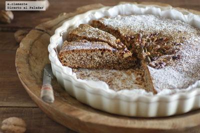 Torta de nuez y pistachos. Receta