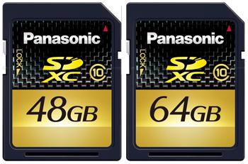 Nuevas tarjetas SDXC de la mano de Panasonic
