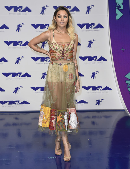 mtv vma video music awards 2017 alfombra roja red carpet paris jackson