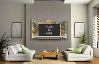 Originales marcos que convierten tu televisor en una ventana