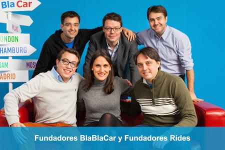 Fundadores Blablacar Y Rides