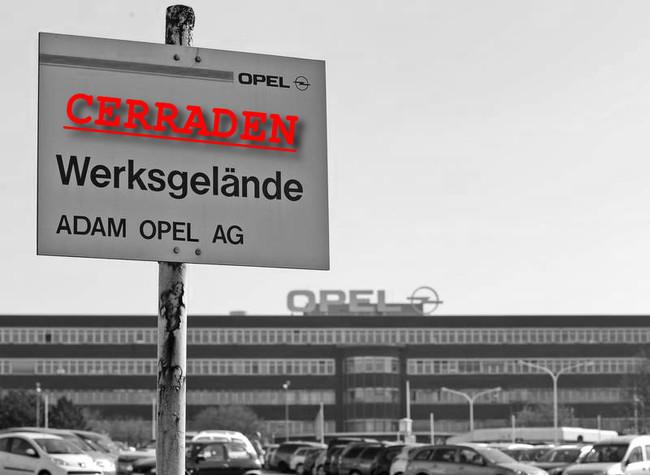 Opel Bochum en 2016 (dramatización)