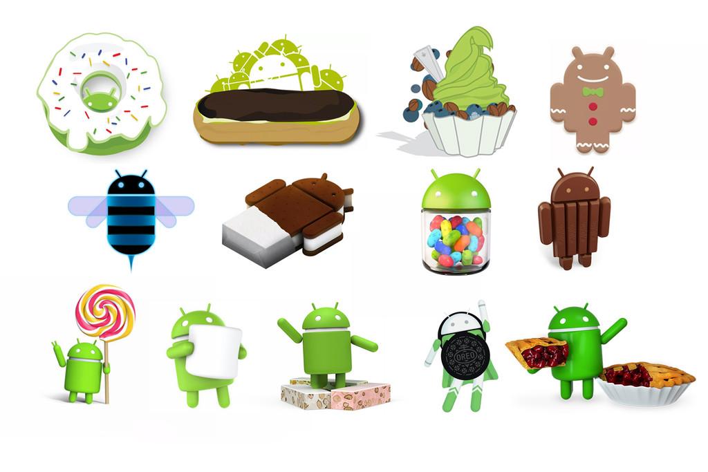 Android 10 es el final de una década llena de postres: repasamos los dulces que dieron nombradía a todas las versiones de Android