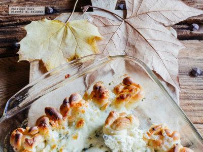 Pizza dip de queso crema, tarta de berenjena y mucho más en Directo al Paladar México