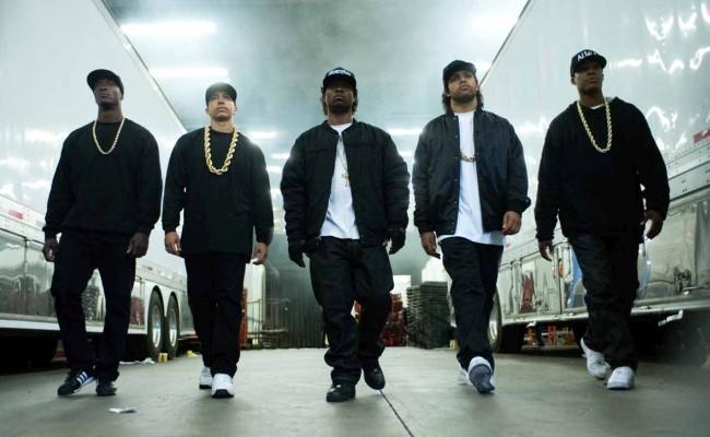 Los protagonistas de Straight Outta Compton