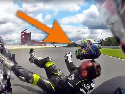 Este aterrador vídeo nos recuerda la ENORME importancia de elegir el casco más apropiado