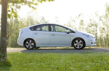 Toyota Prius silueta 2009
