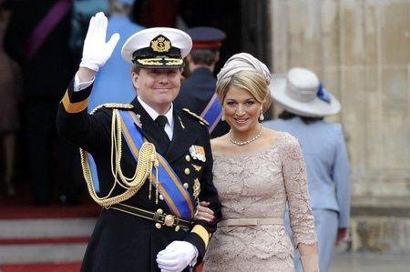 El look de la princesa Máxima de Holanda en la Boda del Príncipe Guillermo y Kate Middleton