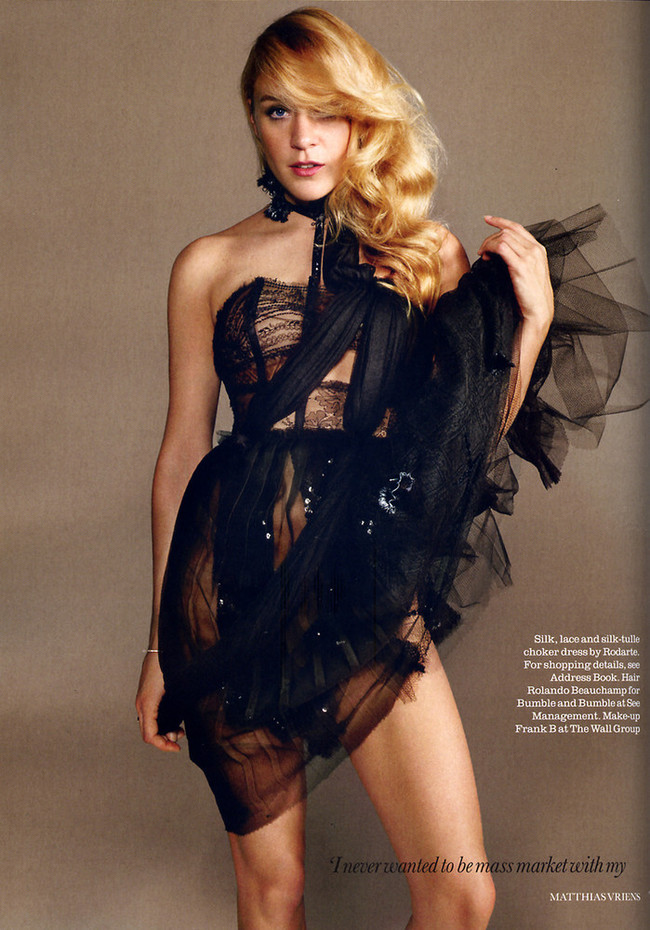 Chloë Sevigny en la revista Elle UK marzo 2008