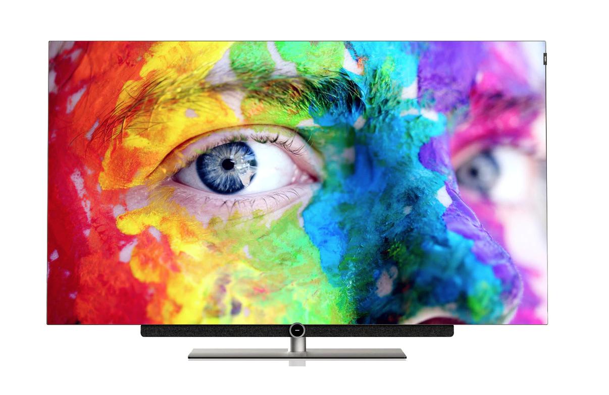 "TV OLED 165 cm (65"") Loewe BILD 3.65 Grafito UHD 4K HDR Smart TV con soporte de mesa"