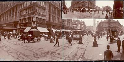 Fotografías panorámicas de Estados Unidos a principios del siglo XX