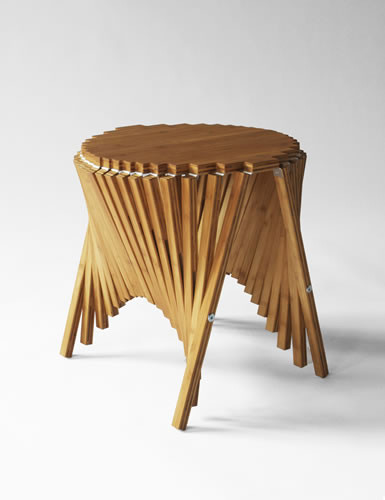 Sorprendente lnea de muebles plegables