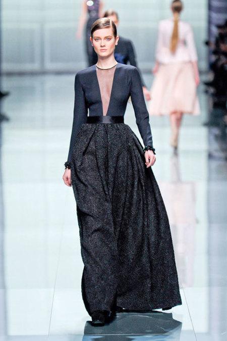 Christian Dior Otoño-Invierno 2012/2013: acertadísimo Bill Gaytten