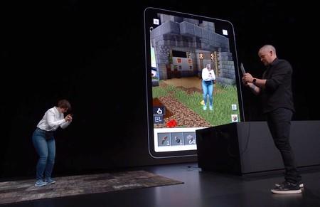 'Minecraft Earth' se muestra por primera vez en la Apple WWDC 2019: así será jugar con la realidad aumentada de Minecraft
