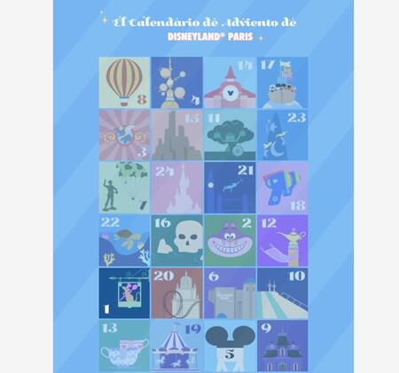 Disneyland Paris nos regala un Calendario de Adviento digital gratuito con 24 mágicas actividades diarias para toda la familia