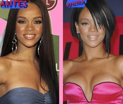 Rihanna podría haber seguido los pasos de Victoria Beckham