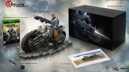 Gears of War 4 nos muestra su edición limitada y de colección