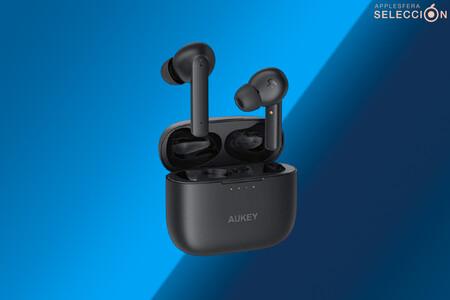 Cancelación activa de ruido y 35 horas de autonomía con los auriculares AUKEY EP-N5 por 39,99 euros en Amazon