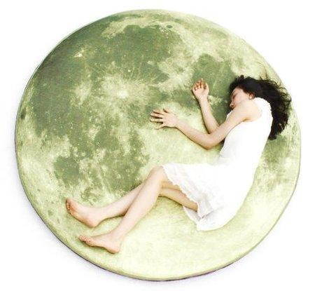 La Luna convertida en una alfombra