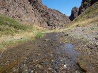 El valle de Yolyn Am, en el desierto del Gobi