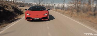 Probamos el espectacular Lamborghini Huracán LP610-4: 610 CV y sólo 1.422 kilos de peso para un cohete llegado de Italia