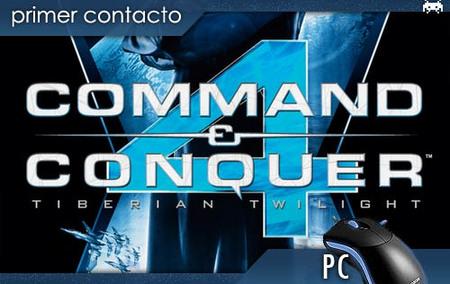 'Command & Conquer 4: Tiberian Twilight'. Primer contacto