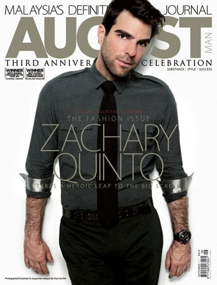 Zachari Quinto en August Man