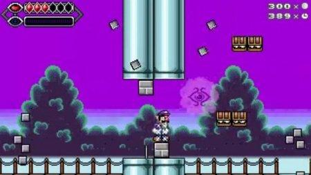 'Psycho Waluigi'. Waluigi protagoniza su primer juego. Y gratis
