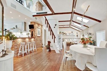 ¿Te gusta el estilo Shabby Chic? Te encantará este fantástico loft sueco