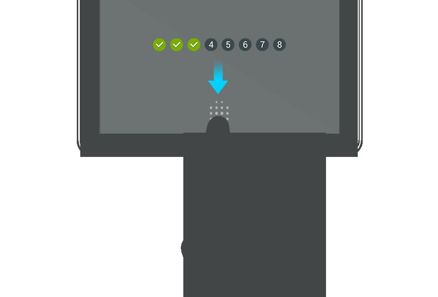 Foto de Samsung Galaxy Tab S, sensor de huellas (1/39)