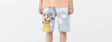 Estas bermudas de Bershka son todo una declaración de color y rebeldía para llevar en tus looks de verano