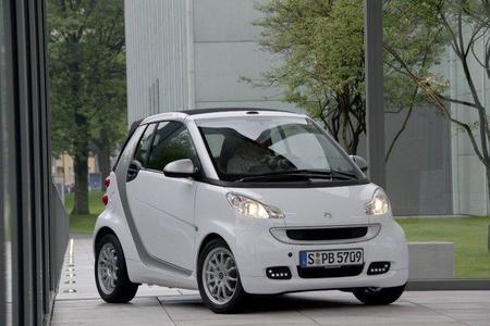 smart presentará un scooter eléctrico en Paris