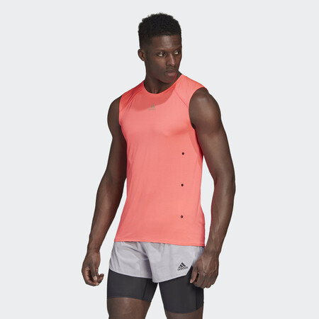 Camiseta Sin Mangas Heat Rdy Rosa Gk3427 21 Model
