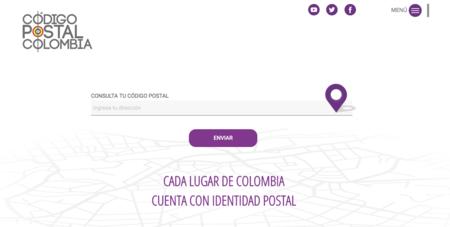 Código postal en Colombia