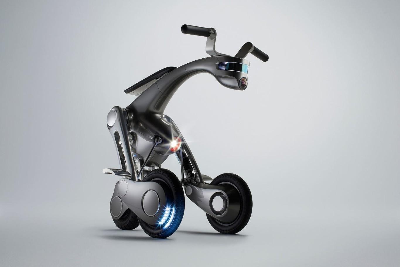 CanguRo, el increíble vehículo personal que también es un robot autónomo con funciones de asistente virtual