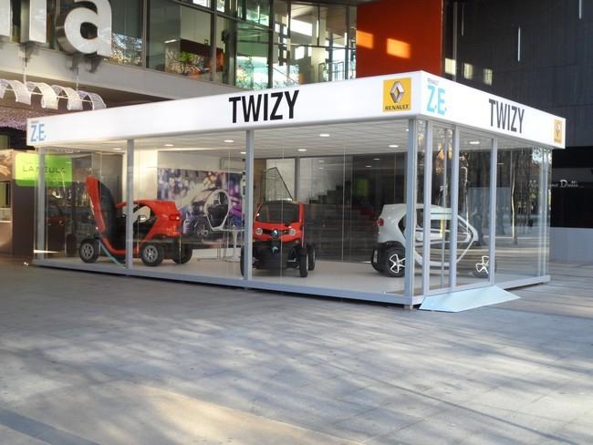 Tienda oficial renault twizy barcelona