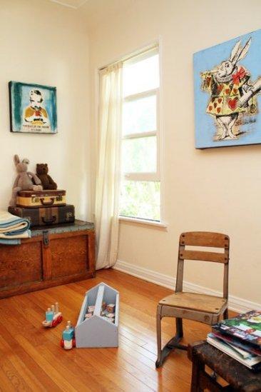 Dormitorios infantiles retro y vintage