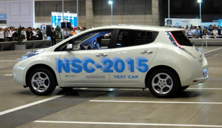 NSC-2015: Nissan se apunta a la conducción autónoma