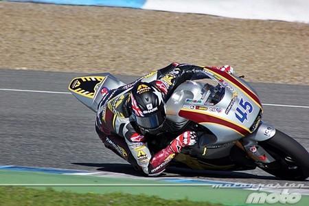 Scott Redding y Marc Racing VDS buscando hueco en MotoGP para el 2014
