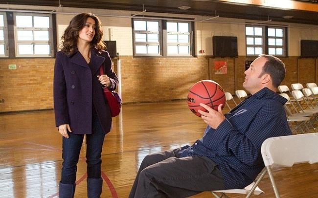 Salma Hayek y Kevin James en 'Peso pesado'