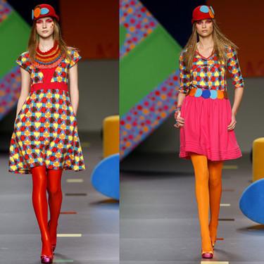 Aghata Ruiz de la Prada en la Cibeles Fashion Week Otoño-Invierno 09/10