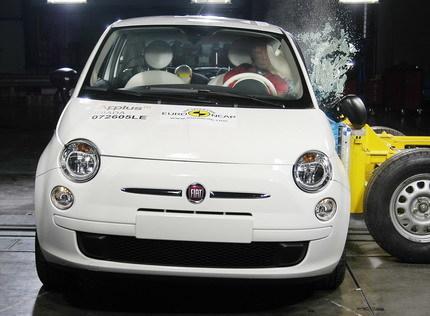 Fiat 500 Test EuroNCAP